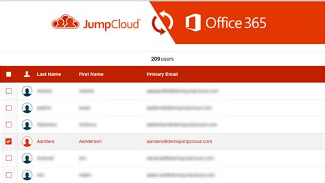 Office 365 Portal Export User List by Jumpcloud Office 365 User Import Provisioning An