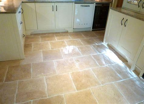 color  tile wavy edge travertine kitchen floor tiles