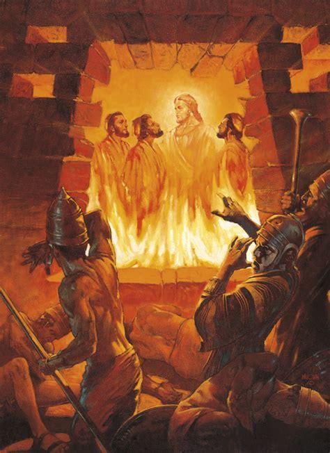 men   fiery furnace shadrach meshach