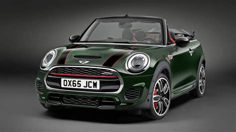This is the new Mini JCW Convertible | Top Gear