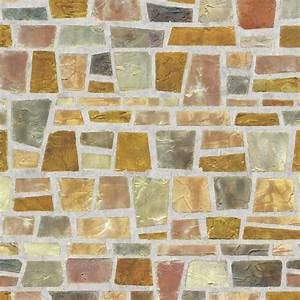 Trapezium Stone Brick Self Adhesive Wallpapers ...