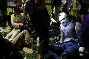 Patience running out: Hong Kong police warn protesters not ...