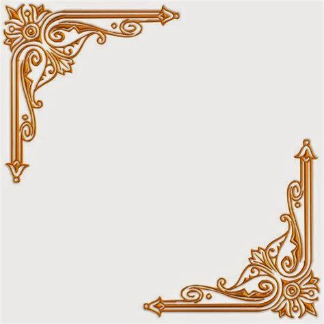 contoh desain bingkai undangan pernikahan bisnis borneo