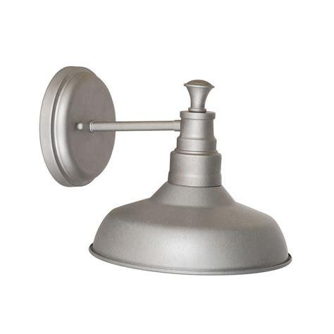design house kimball 1 light galvanized steel indoor