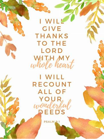 Thanksgiving Scripture Happy Watercolor Printable Holiday Them
