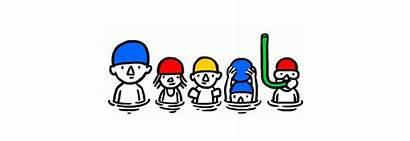 Google Summer Doodle Sun Animated Doodles Fun
