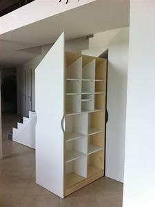 Placards Sur Mesure Sous Escalier Les Ateliers Du Cdre