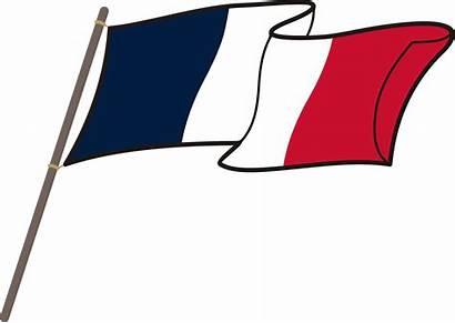 Flag French Clipart Paris France National Transparent