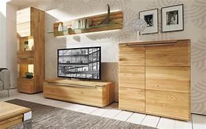 Hülsta Gentis Online Kaufen : wohnwand vedua in natureiche massiv online bei hardeck kaufen ~ Buech-reservation.com Haus und Dekorationen