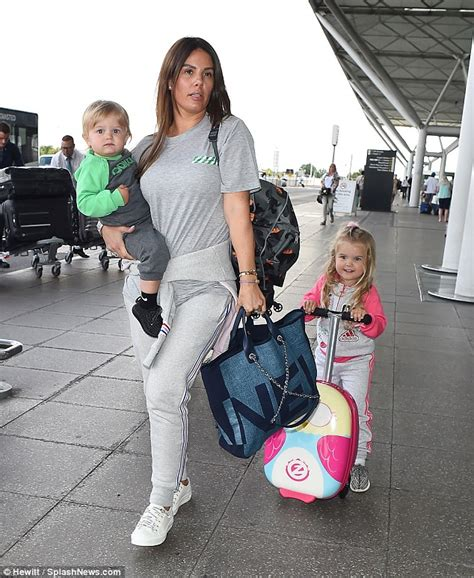 Rebekah Vardy is worlds away from her WAG glamour at ...