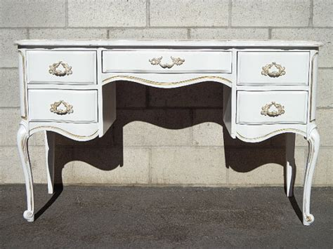 french writing desk for sale french provincial queen anne writing desk regency white gold