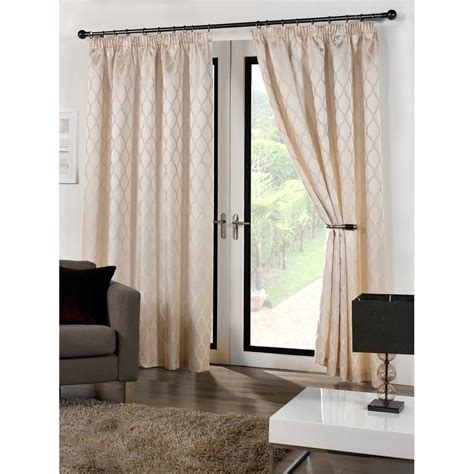 cuba ready made fully lined patterned curtains