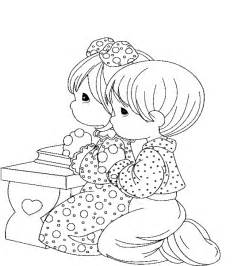 children praying coloring page coloring home