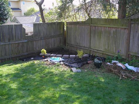 Landscaping Ideas For Corner Of Backyard Garden Post