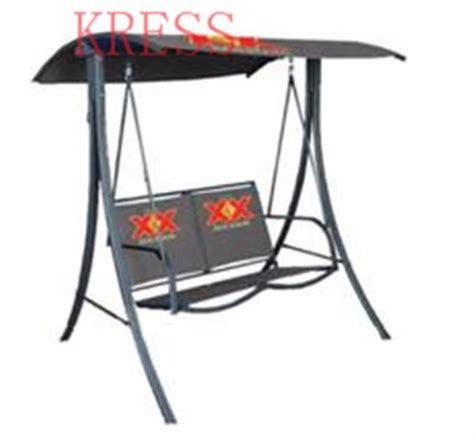 patio free standing steel frame swing chair hammock buy