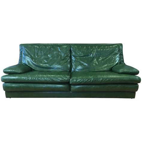 green sofas for sale vintage roche bobois green leather sofa for sale at 1stdibs
