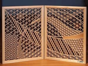 Kumiko Art Folding Screen gallery K-INO Inomata Art