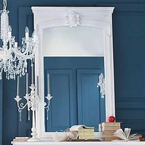 Miroir 160 Cm : miroir trumeau en bois blanc h 160 cm jos phine maisons du monde ~ Teatrodelosmanantiales.com Idées de Décoration