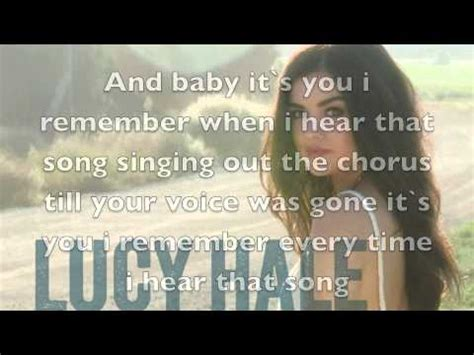 lucy hale red dress lyrics youtube