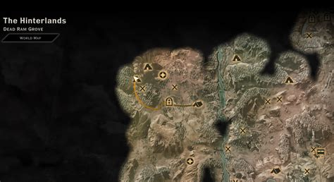image map  farmland cave routepng dragon age wiki