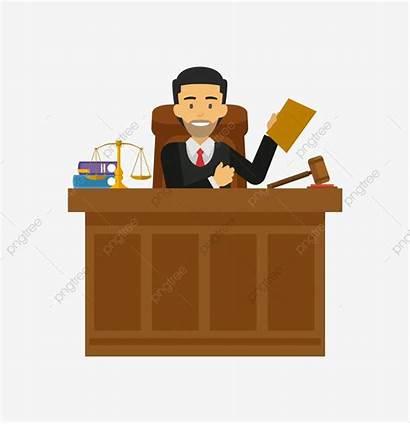 Clipart Judge Juez Court Legal Pngtree Law