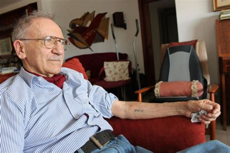 auschwitz concentration camp tattoo shared  father