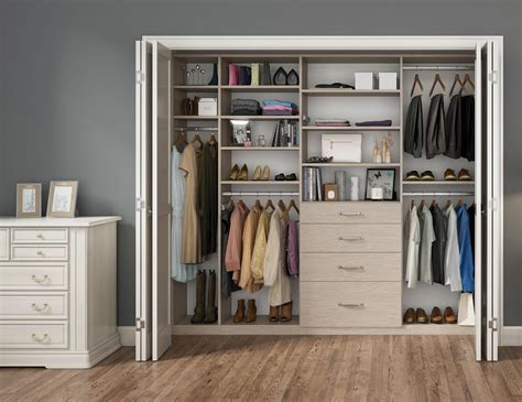 Closet Ideas by Reach In Closets Designs Ideas By California Closets