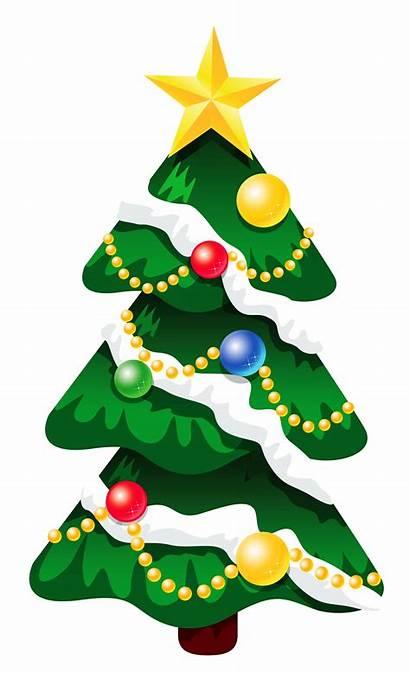 Clipart Tree Christmas 3d Cliparts Clip Snow
