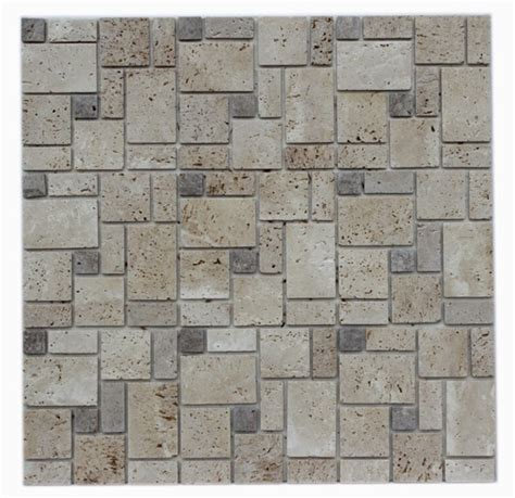 travertine peel and stick instant self adhesive tile