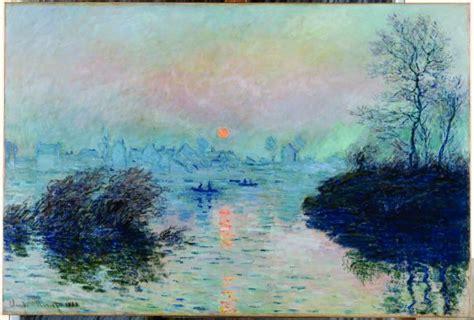 COUCHER DE SOLEIL SUR LA SEINE (MONET) : exposition Turner ...