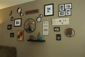 Oregon transplant home decor living room wall collage