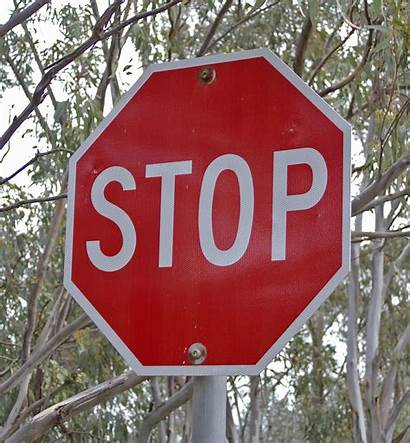 Stop Sign Symbol Definition Traffic Examples Stops