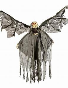 Halloween Deko Kaufen : todesengel skelett halloween deko schwarz weiss 120cm skelett ~ Michelbontemps.com Haus und Dekorationen