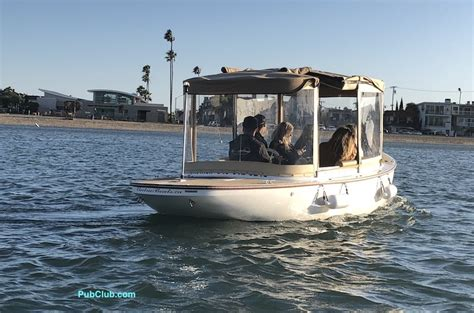 Duffy Electric Boat Rentals Newport Beach by Newport Beach Duffy Style Electric Boat Rentals Pricing
