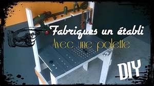 Fabriquer Un établi : tuto palette fabriquer un tabli pour enfant avec une palette youtube ~ Melissatoandfro.com Idées de Décoration