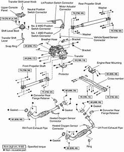 Schematics And Diagrams  Transfer Case Replacing On Toyota Sequoia And Land Cruiser