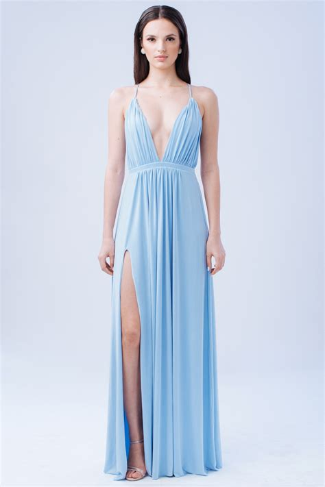 maxi zoo siege social powder blue dresses dress yp
