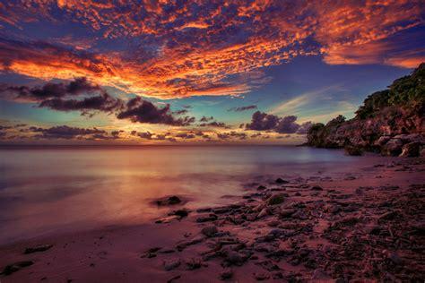 beach photography image  curacao