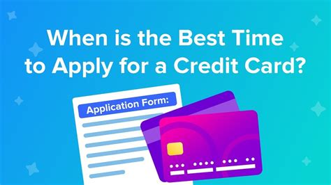 Once you get a credit card, you can build credit by using it every month, paying off your purchases on time and keeping a low credit utilization (less than 30%). When is the best time to apply for a credit card? - YouTube
