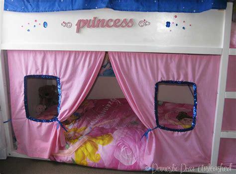 Ikea Prinzessin Bett by Princess Ikea Kura Bed Makeover Domestic Unleashed