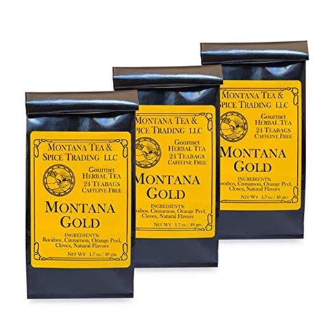 We have a passion for community and would love to meet you! Montana Tea & Spice Combo Pack (Montana Gold)