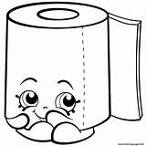 Shopkins Coloring Toilet Pages Paper Roll Season Leafy Printable Colouring Sweat Drawing Drawings Info Cartoon Kawaii Shopkin Pencil Printables Easy sketch template