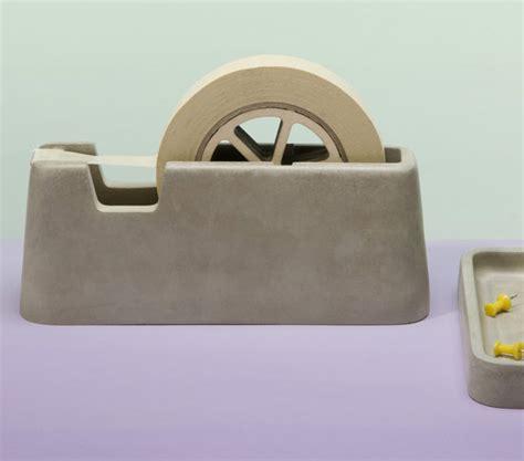 accesoires de bureau accesoires de bureau en ciment concrete desk set