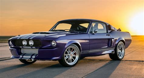 classic recreations creates spectacular 39 blurple 39 shelby