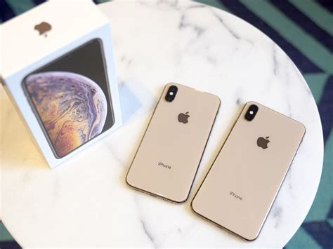 iphone xs and xs max review bigger faster gold er better imore