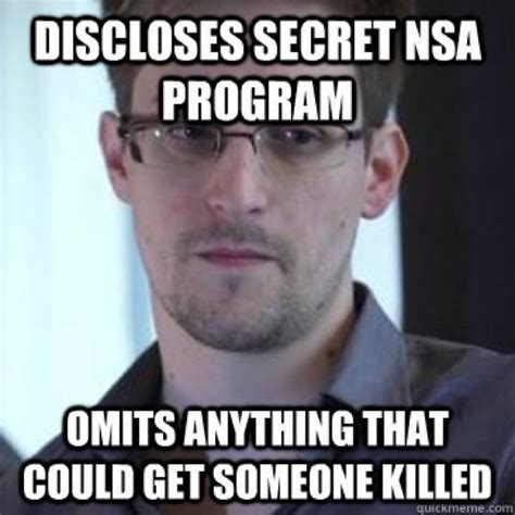 Snowden Meme - edward snowden the internet s latest sensation