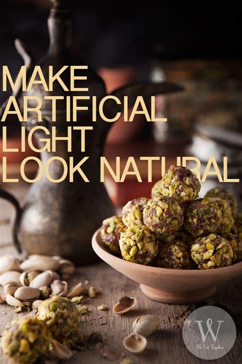 artificial food photography lighting