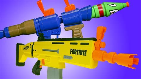 fortnite nerf blasters super soakers revealed ign