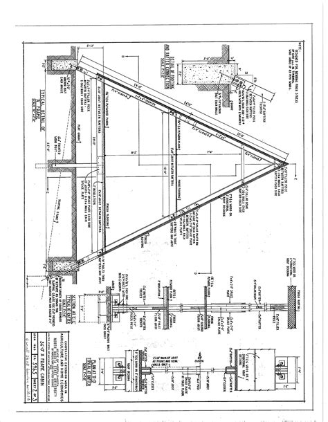 home building plans free a frame cabin plans blueprints construction documents