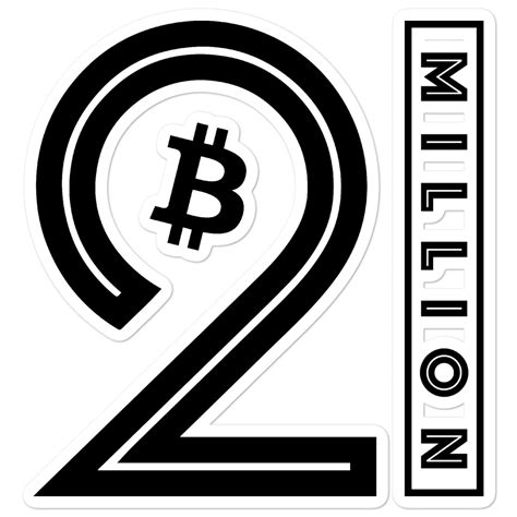 Or waiting for next big crash? 21 Million Bitcoin Bubble-free stickers - SatoshiCorner